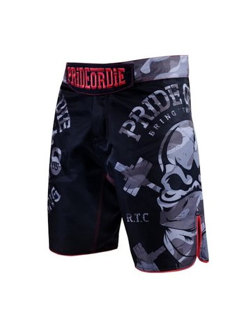 Pride or Die PRIDE of DIE MMA Fightshorts RAW TRAINING CAMP Urban