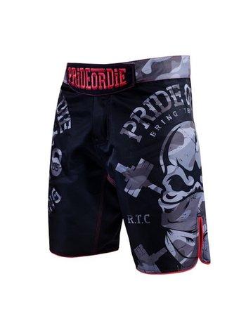 Pride or Die PRIDE or DIE MMA Fightshorts RAW TRAINING CAMP Urban