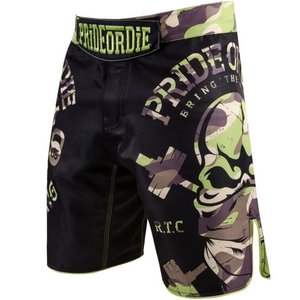 Pride or Die PRIDE of DIE MMA Fightshorts RAW TRAINING CAMP Jungle