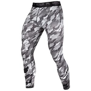 Venum Venum Sport Clothing Tecmo Legging Spats Tights Black Grey