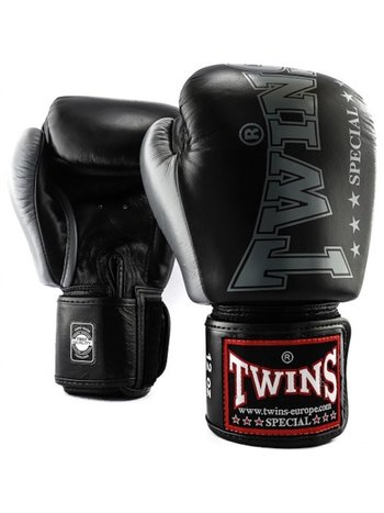 Twins Special Twins Fightgear Boxing Gloves BGVL 8 Black Leather
