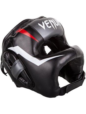 Venum Venum Elite Iron Headgear Black Red Grey Head Protection