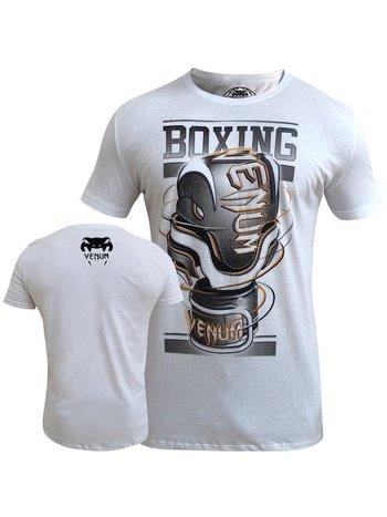 Venum Venum Cutting Edge Boxing T Shirt Ice Vechtsport Artikelen
