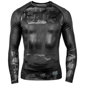 Venum Venum Tactical Rash Guard L/S compressieshirt Camo zwart