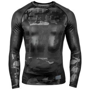 Venum Venum Tactical Rash Guard L/S Compression Shirt Camo Black