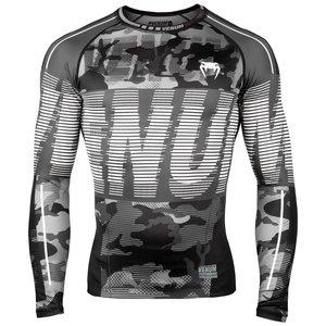 Venum Venum Tactical Rash Guard L/S Compression Shirt Urban Camo Black