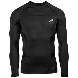 Venum Venum Rash Guard G-Fit L/S Black Compression Shirt