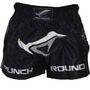 Punch Round™  Punch Round NoFear Thaiboxing Short Black Grey