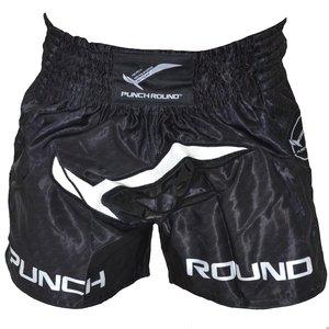 Punch Round™  Punch Round Kickboks Broekjes NoFear Zwart Wit