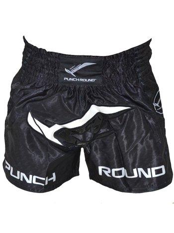 PunchR™  Punch Round Kickboks Broekjes NoFear Zwart Wit