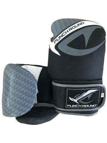 PunchR™  Punch Round No-Fear Boxhandschuhe Schwarz Grau