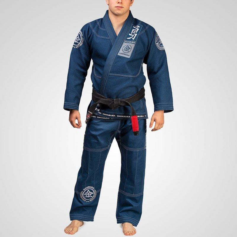 Hayabusa Hayabusa Goorudo 3.0 Gold Weave Jiu Jitsu BJJ Gi Blue