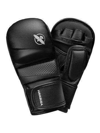 Hayabusa Hayabusa T3 MMA Hybrid Sparring Handschoenen 7oz Zwart