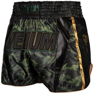 Venum Venum Muay Thai Full Camo Shorts Schwarz Grün