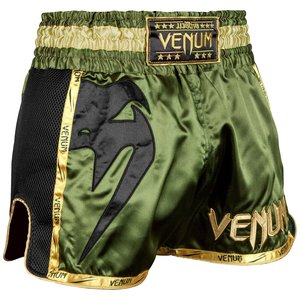 Venum Venum Muay Thai Shorts Giant Green Black Gold
