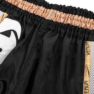 Venum Venum Muay Thai Shorts Giant Zwart Goud Wit