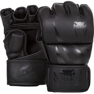 Venum Venum MMA GlovesChallenger Black Black Pu Leather