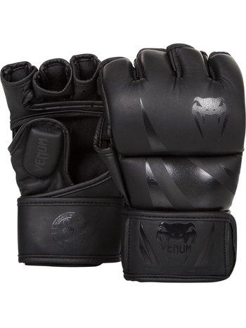 Venum Venum MMA Handschuhe Challenger Schwarz Schwarz Pu Leder