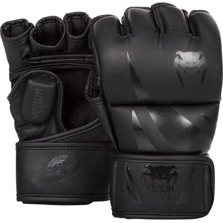 Venum Venum MMA Handschoenen Challenger Zwart Zwart Pu-leer