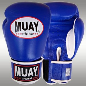 MUAY® MUAY Boxing Gloves Original Blue Leather