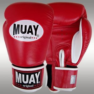 MUAY® MUAY Boxing Gloves Original Red Leather