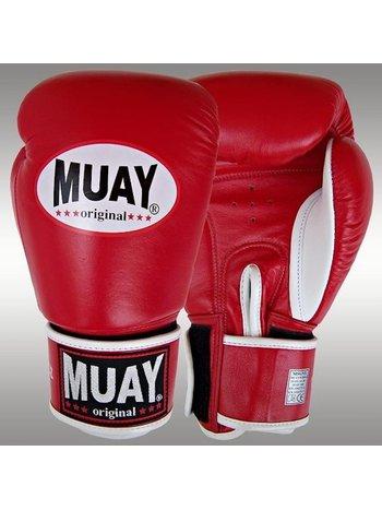 MUAY® MUAY BoxhandschuheOriginal Leder Rot