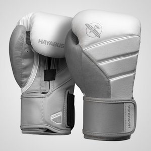 Hayabusa Hayabusa Boxing Gloves T3 White Grey Fightstore Europe