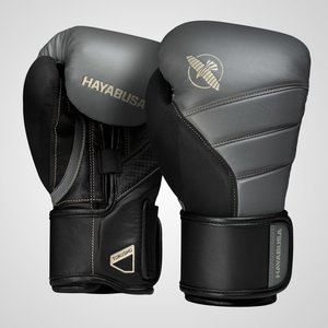 Hayabusa Hayabusa Boxing Gloves T3 Charcoal Black Fightshop Europe