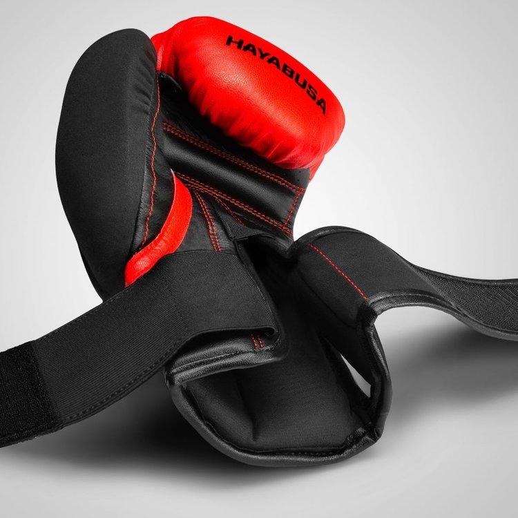 Hayabusa Hayabusa BokshandschoenenT3 Rood Zwart Vechtsport Shop