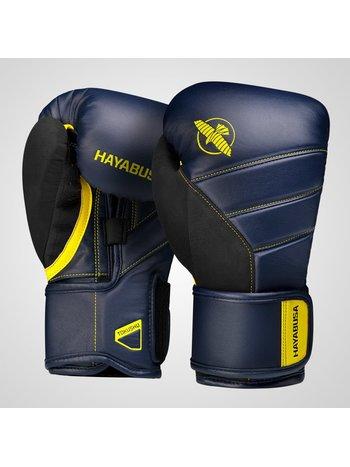 Hayabusa Hayabusa Boxing GlovesT3 NavyBlue Yellow Hayabusa Europe