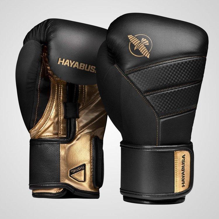 Hayabusa Hayabusa Boxing GlovesT3 Black GoldHayabusaFightwearEurope