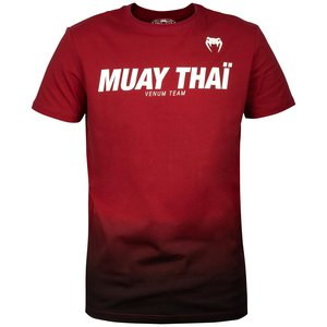 Venum Venum Muay Thai VT Cotton T Shirts Red