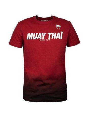 Venum Venum Muay Thai VT Katoenen T-shirts Rood