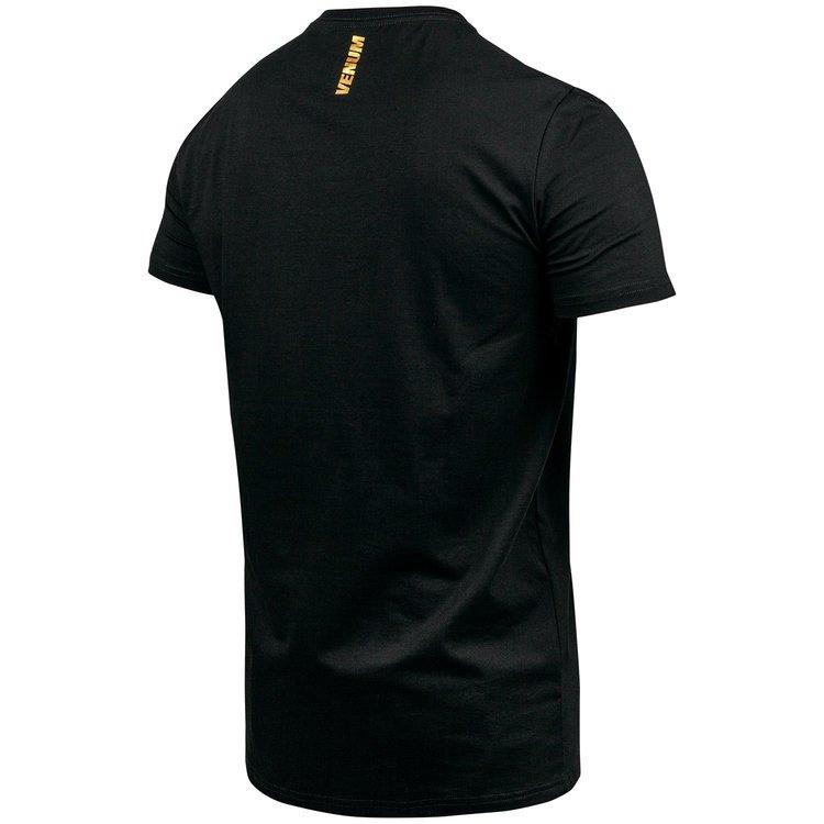 Venum Venum Muay Thai VT Katoenen T-shirts Zwart Goud