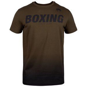 Venum Boxing Clothing Venum VT Boxing T-Shirts Brown Black