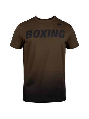 Venum Venum Bokskleding BOXING VT T-shirts Khaki Zwart