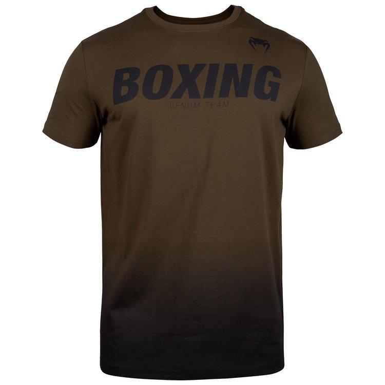 Venum Boxing Clothing Venum VT Boxing T-Shirts Brown Black