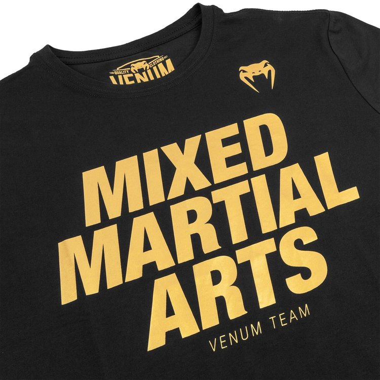 Venum Venum MMA VT T-Shirts Schwarz Gold Mixed Martial Arts