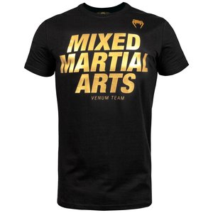 Venum Venum MMA VT T-Shirts Black Gold Mixed Martial Arts