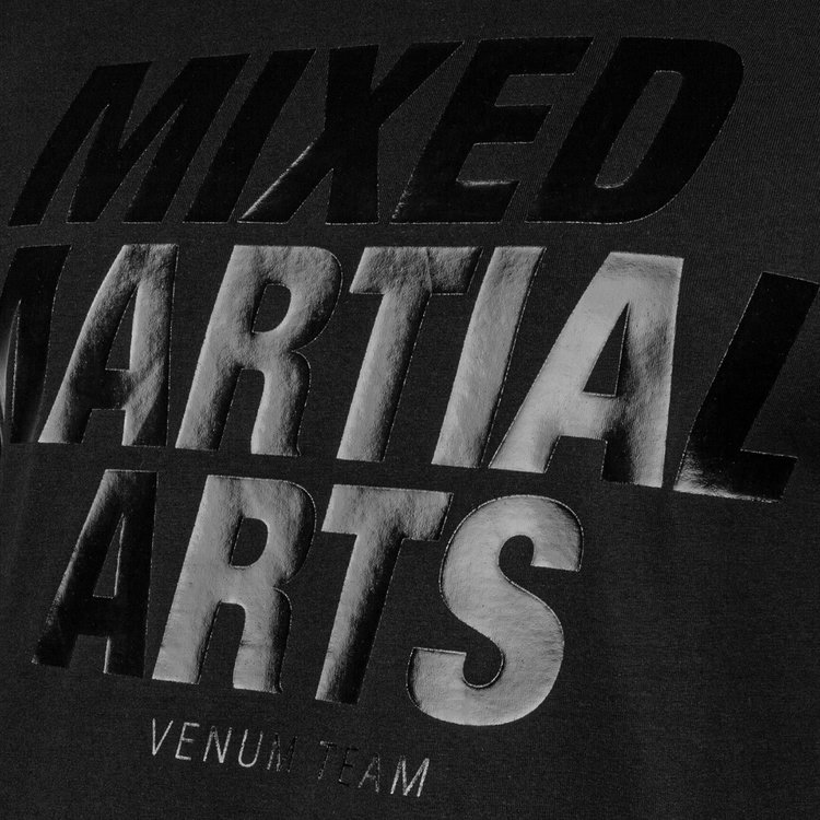 Venum Venum MMA VT T-Shirts Schwarz Schwarz Mixed Martial Arts