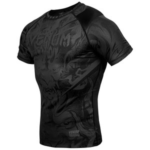 Venum Venum Devil Rashguard Compression Shirt S/S Black Black
