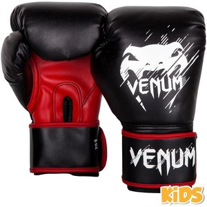 Venum Venum Contender Kids Boxing Gloves Black Red