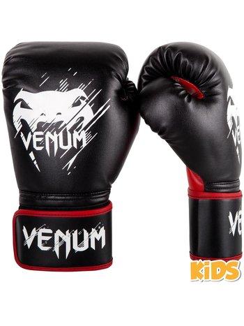 Venum VenumContender Kids Boxing Gloves Black Red