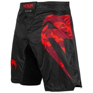 Venum Venum Fight Shorts Light 3.0 Schwarz Rot Camo