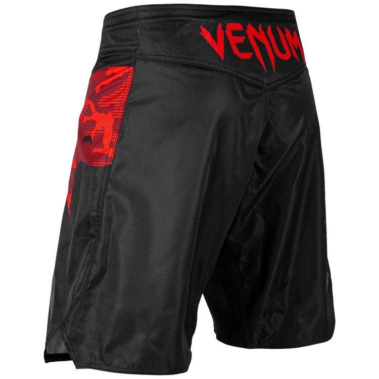 Venum Venum Fight Shorts Light 3.0 Zwart Rood Camo