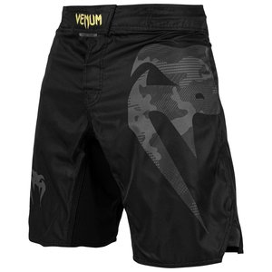 Venum Venum Fight Shorts Light 3.0 Zwart Grijs Camo