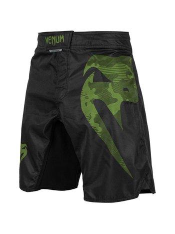 Venum Venum Fight ShortsLight 3.0 Black Green Camo