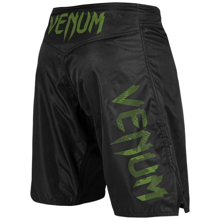 Venum Venum Fight Shorts Light 3.0 Schwarz Grün Camo