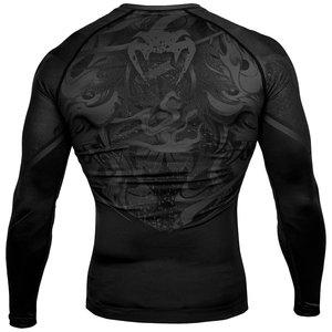 Venum Venum Devil Rash Guards L/S Black Venum Fightwear Clothing