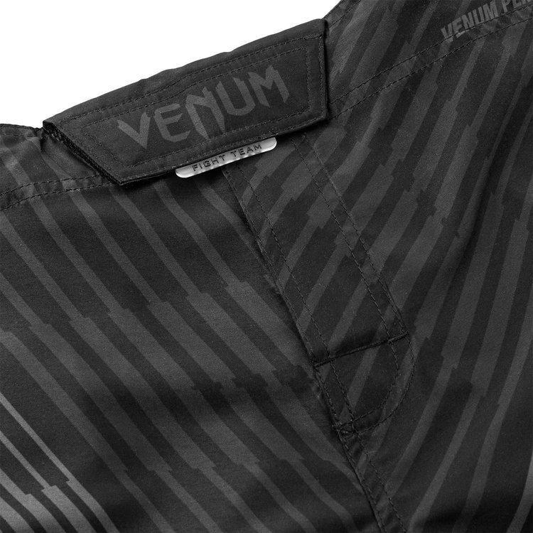 Venum Venum Fightshorts Plasma Schwarz auf Schwarz